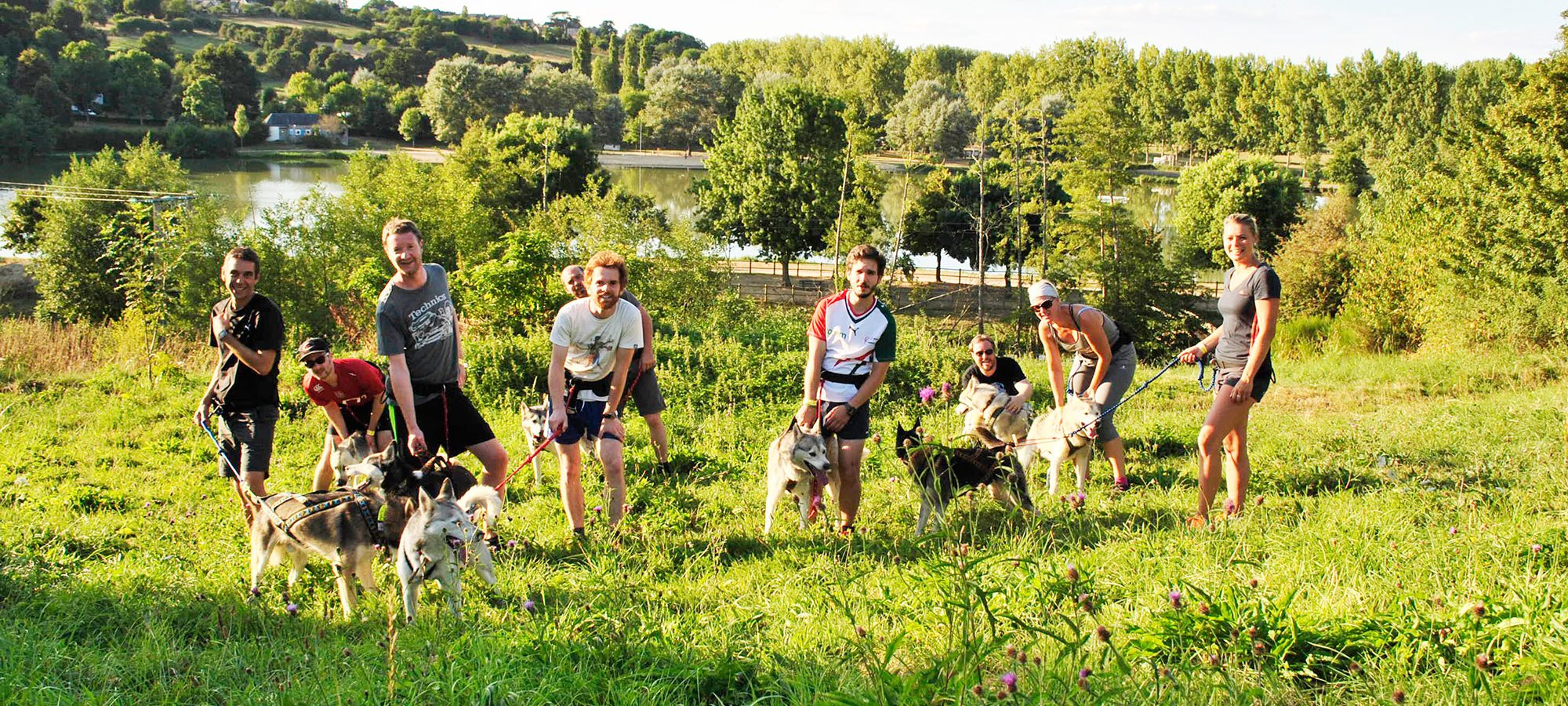 Groupe de cani-rando